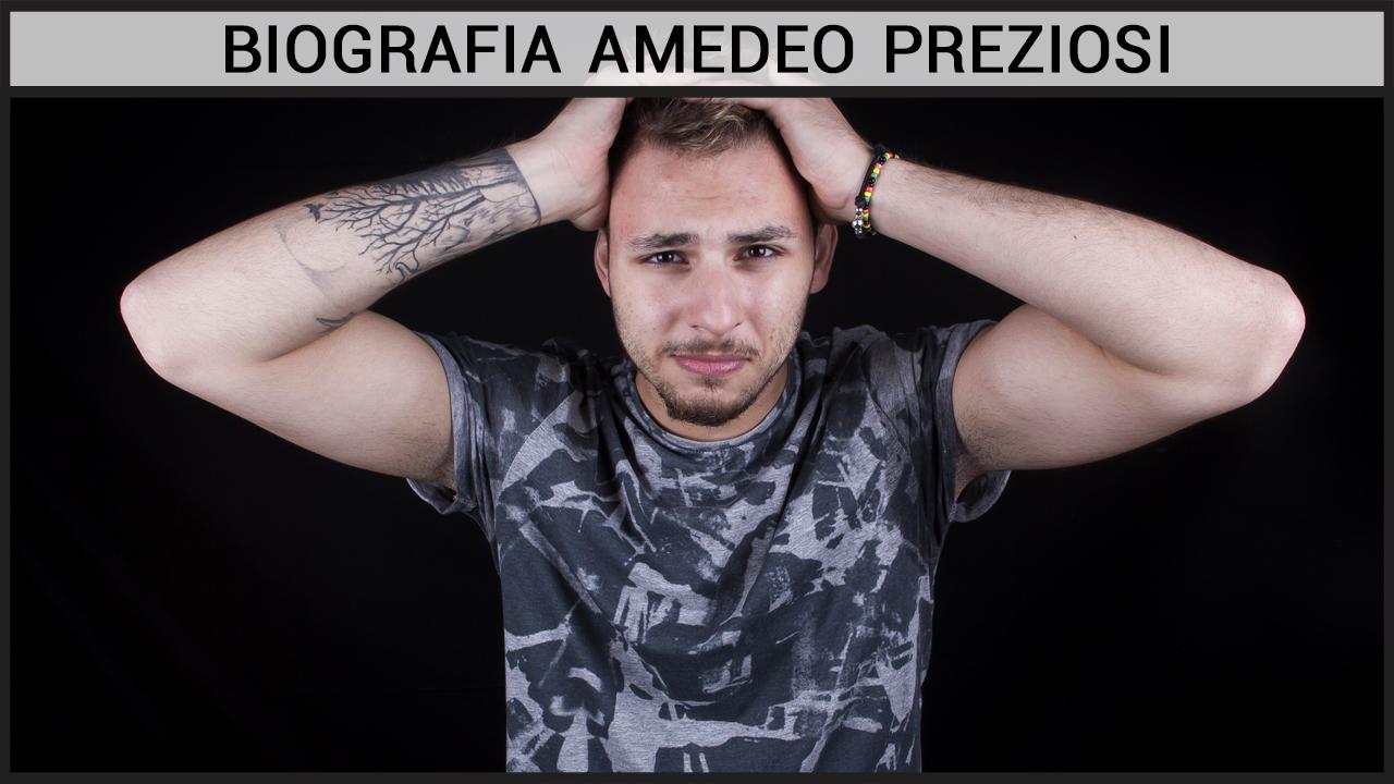 Biografia Amedeo Preziosi