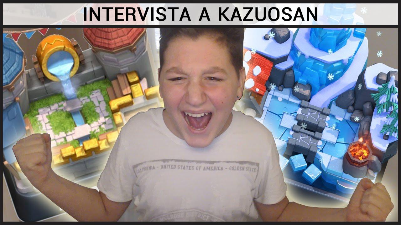 Intervista a Kazuosan