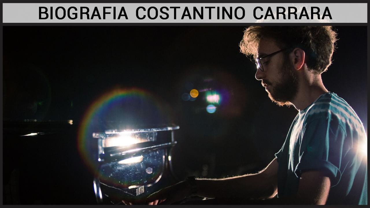 Biografia Costantino Carrara