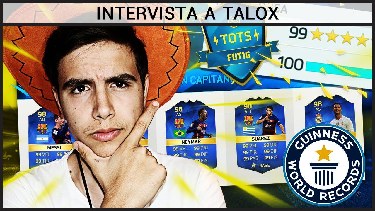 Intervista a Talox