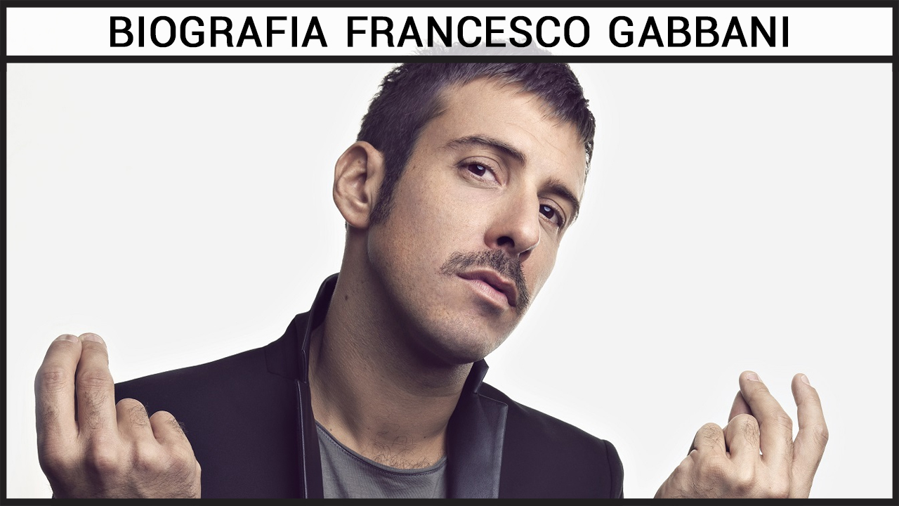 Biografia Francesco Gabbani