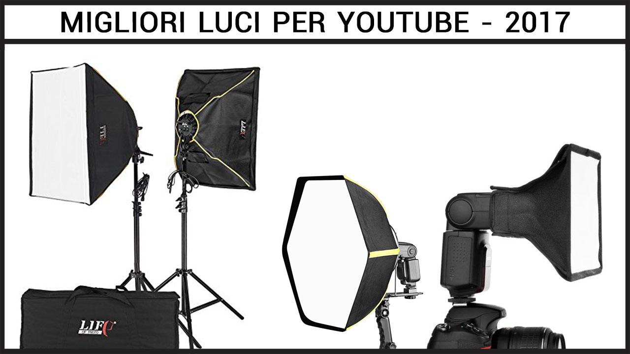 luci per youtube