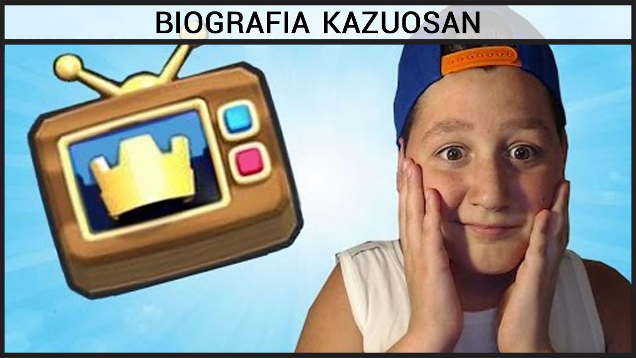Biografia Kazuosan