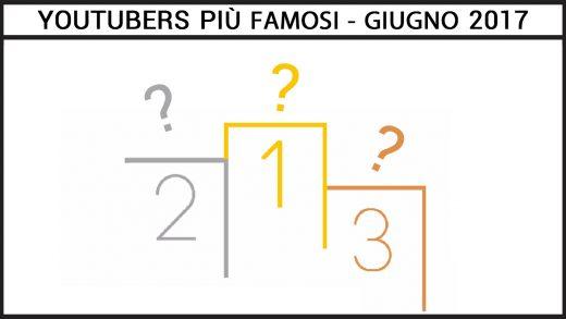 classifica degli Youtubers Italiani