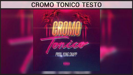 cromo tonico testo