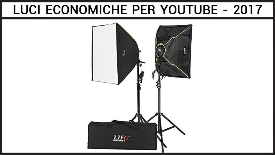 illuminazione video economica