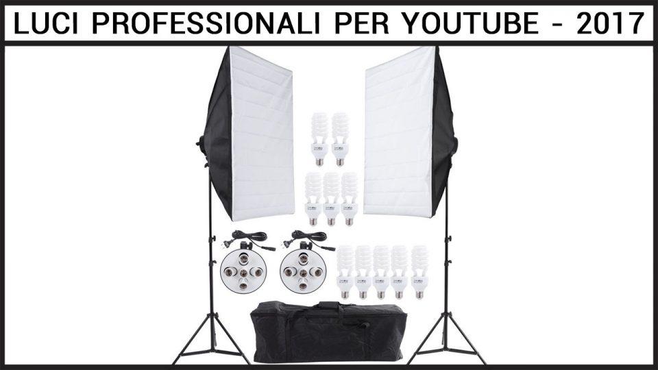 illuminazione video professionale