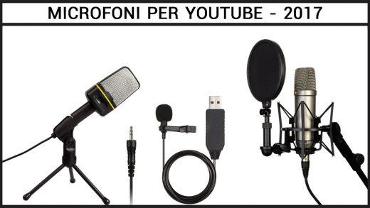 microfono da Youtuber