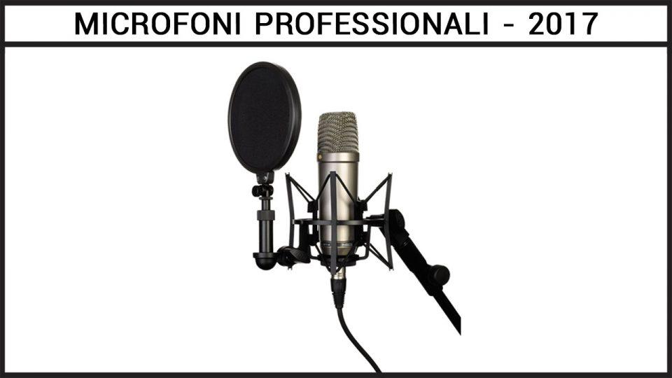 microfono da youtuber professionale