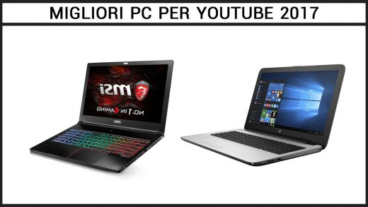 migliori pc per Youtube