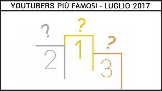 youtubers italiani più famosi luglio 2017