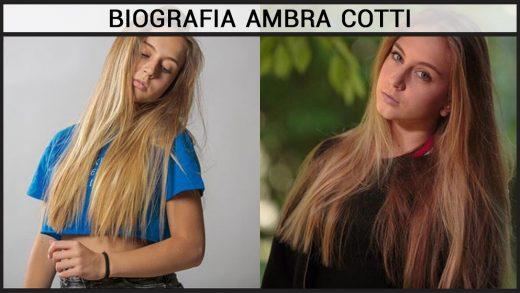 Biografia Ambra Cotti