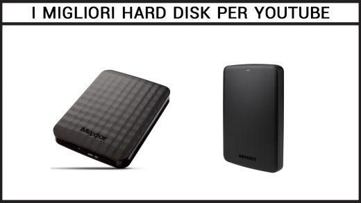 migliori hard disk per Youtube